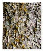 Tree Trunk Detail Fleece Blanket