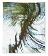 Tree Diptych 1 Fleece Blanket
