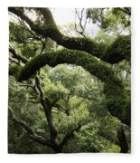 Tree Drama Fleece Blanket
