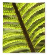 Tree Fern Frond Fleece Blanket