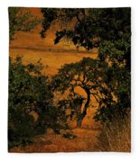 Tree Formation Fleece Blanket