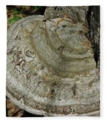 Tree Fungi Fleece Blanket