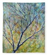 Tree Number One Fleece Blanket