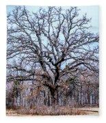 Tree Of Beauty Fleece Blanket