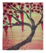Tree Of Desire 2 Fleece Blanket