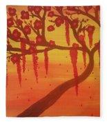 Tree Of Desire Fleece Blanket