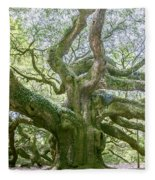 Tree Of History Fleece Blanket