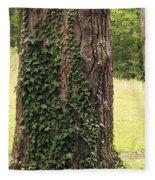 Tree Of Ivy Fleece Blanket