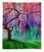 Tree Of Life 111 Fleece Blanket