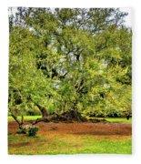 Tree Of Life 2 - Paint  Fleece Blanket