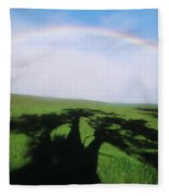 Tree Shadow Fleece Blanket
