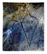 Tree Slab - 5025 Fleece Blanket