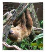 Tree Sloth Fleece Blanket