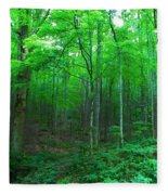 Tree Stand Fleece Blanket
