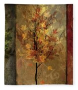 Tree Story Fleece Blanket