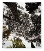 Tree Tops  Fleece Blanket