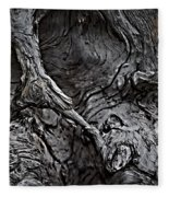 Tree Trunk Abstract Fleece Blanket