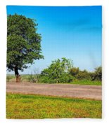 Tree With A View Fleece Blanket