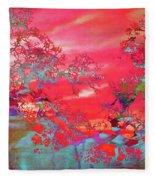 Trees 67 Fleece Blanket