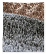 Rock, Paper, Scissors Fleece Blanket