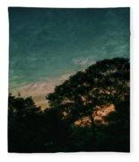 Trees - San Salvador Iv Fleece Blanket