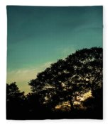 Trees - San Salvador V Fleece Blanket