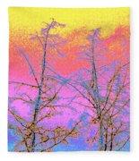 Treetops 1 Fleece Blanket