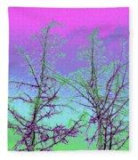 Treetops 5 Fleece Blanket