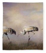 Tres Amigos Fleece Blanket
