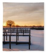 Tri-centennial Light Fleece Blanket
