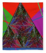 Triangular Thoughts Fleece Blanket