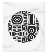 Tribal Ball- Art By Linda Woods Fleece Blanket