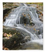 Tributary Of Lost River - Woodstock New Hampshire  Fleece Blanket