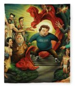 Tribute To Animal House Fleece Blanket