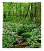 Trillium Woods Vi Fleece Blanket