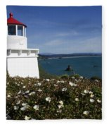 Trinidad Lighthouse California Fleece Blanket