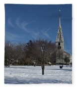 Trinity Church Fleece Blanket