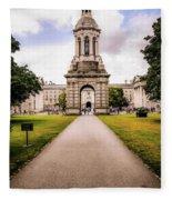 Trinity College Dublin  Fleece Blanket