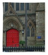 Trinity Episcopal Cathedral Fleece Blanket