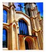 Trinity Episcopal Cathedral Columbia Sc Fleece Blanket