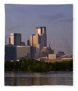 Trinity River Dallas 3 Fleece Blanket