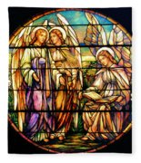 Trio Of Angels Fleece Blanket