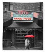 Trio Restaurant Fleece Blanket