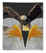 Triple Eagle Fleece Blanket