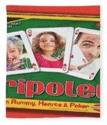 Tripoley Board Game Painting Fleece Blanket
