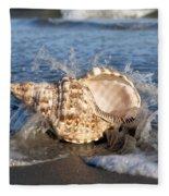Triton Shell  Fleece Blanket