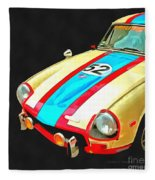 Triumph Gt Pop Art Fleece Blanket