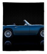 Triumph Tr4 Fleece Blanket