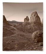 Trona Landscape Fleece Blanket