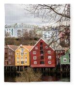 Trondheim Colors Fleece Blanket